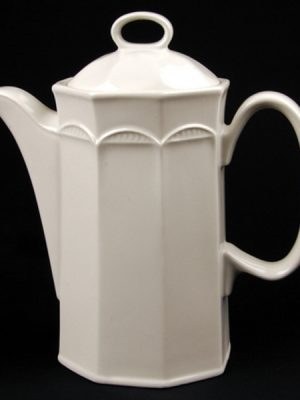 COFFEE POT White Crockery Hire