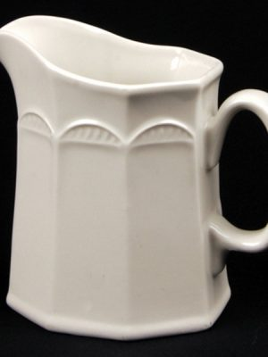 CREAM JUG White Crockery Hire