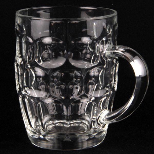 Beer Glass 1 Pint Handled