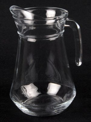 GLASS WATER JUG - 1 litre/2 pint