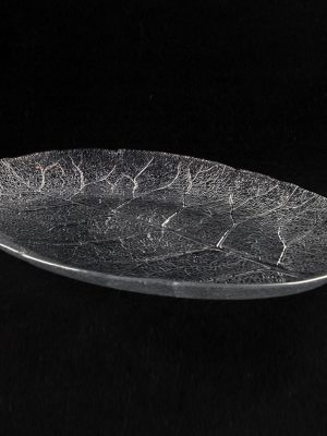 "Platter Glass 14 "" Oval Aspen"