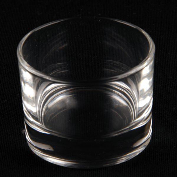 PINCH POT GLASS SALT / PEPPER / TEALIGHT