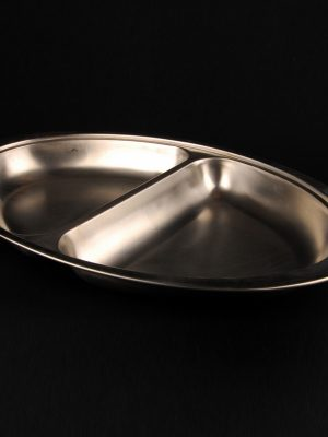 "20"" DIVIDED BANQUETING DISH"