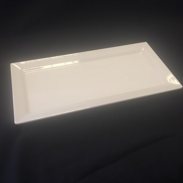 "MELAMINE RECTANGULAR PLATTER 14"" (30x355x180mm)"